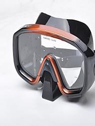 Masques de plongée en PVC/Silikon - Jaune