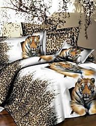 jiajia cómoda 3d de impresión de cuatro piezas de cama