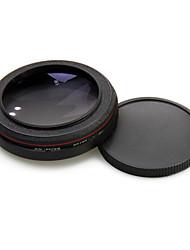tempos de grande angular 67 milímetros zomei fina grande angular 0.45x lente sem vinhetas