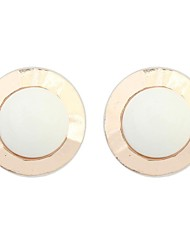 Women's EU&US Elegant Round Beaded Stud Earrings