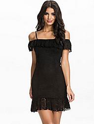 VONIWomen's Casual Dresses (Lace)