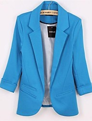 Women's Candy Color Leisure Slim Small Suit