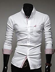 DS моды для мужчин случайные большой размер рубашки