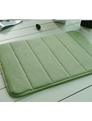 Casual Memory Foam  Vertical Stripe Pattern Water Absorption 40cm*60cm Bath Rugs