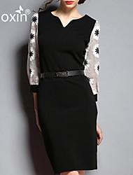 nuoxin® Women's Clothing Organza Bag Hip Dress