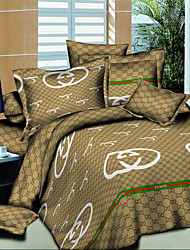 Shuian® Modern Bedding Set Oil Painting Queen Quilt Cover Comforter Sets 4pcs