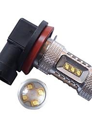 1pcs High Power 16 CREE LED Light H11 80W 360 Degree Car Turn Signal Light Rear Tail Stop Bulb Brake Lamp