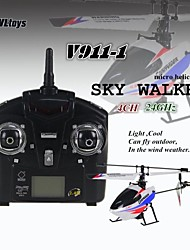 WL V911-2 4CH 24GHz RC Micro Single-rotor Helicopter