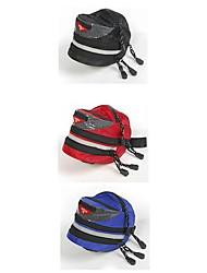 Bicicleta Saddle Bag ( Vermelho/Preto/Azul , Ripstop 600D Á Prova-de-Água/Seca Rapidamente/Zíper á Prova-de-Água/Lista Reflectora/Vestível Ciclismo