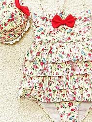 Girl's Cake Skirt Swimsuit