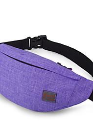 TINYAT New Bicycling Fanny Pack/Portable Money Belt Bag/Leisure Waterproof Waist Bag/Chest Bag T201 Violet