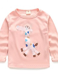 Girl's Fashion All-Matching Deer Tees