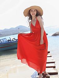 Vestito - Maxi - Spiaggia Chiffon