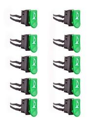 DIY veículos eléctricos sinal chifre botão alterna (10-pack)