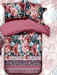 4 pcs Bedding Set Bedclothes Sets Bedding Article Bed Necessaries Sheet Quilt Cover Duvet Cover Pillowcase
