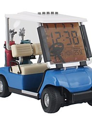 Originality Golf Car Alarm Clock Fashionable Design  with Battery (random Color)