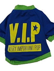 The New 2015 Cotton T-Shirts Printed VIP(Different Size Of The Dog), Dog Clothes, Shirts, Readymade Garments, Pet