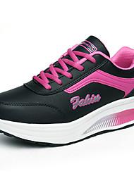Zapatos de mujer ( Negro/Azul/Rosado/Gris Cuero sintético