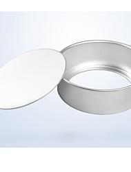 Backformen aus hochwertigem Aluminium Chiffon- Kuchenbackformen (6 Zoll)
