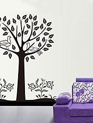 removível árvore grande parede de pvc etiqueta ambiental