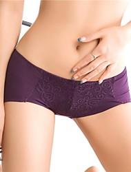 algodón de encaje sexy talla de panty de las mujeres