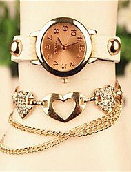 Women's 2015 The Latest Fashion Leather  Quartz Watch(Assorted Colors) Cool Watches Unique Watches