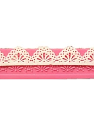 Small Flower Border Lace Mold Cake Mould Silicone Baking Tools Kitchen Accessories Decorations