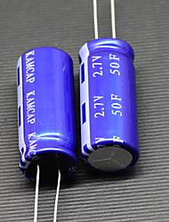 10PCS x 50F 2.7V KAMCAP HP Series Super Electrolytic Capacitors ELDC Sets