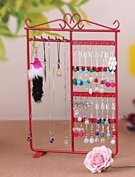 multifonctions métal boucles / bijoux collier étagère organisateurs-cinq couleurs disponibles
