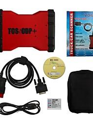 mais novo vd600 v2014.02 cor vermelha Bluetooth tcscdp pro + com keygen livre suporte win8