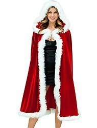 Vrouwelijk - Kerstmis - Kerstmanpakken - Mantel - met Mantel -