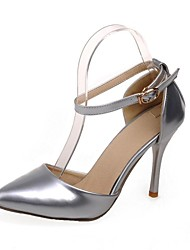 Women's Shoes Patent Leather Stiletto Heel Pointed Toe Pumps Shoes Dress More Colors available
