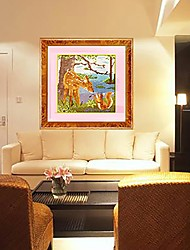 Squirrel Diamond Paintings Counted Cross Stitch kits Embroidery Sika Deer Full Resin Diamond New Animals Mosaic Picture