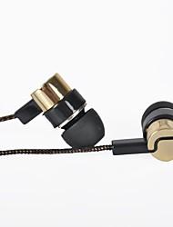 Ecouteurs ( Or , Microphone/MP3/Résonance/Portable/Ecouteurs ) - Classique/Cartoon/Nouveauté/Rétro/Elégant - Dans l'oreille - Cablé