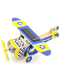 Blue Squab Plane DIY Solar Installation Toys