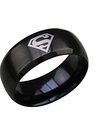 Men's Statement Rings Costume Jewelry Titanium Steel Jewelry For Wedding Party Daily Casual Sports