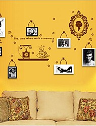 fotografie fotogrammi di tv seeting autoadesivo della parete / camera da letto / autoadesivo della parete della stanza di studio
