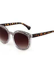100% UV400 pc lunettes de soleil rétro ronde