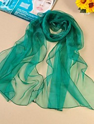 Shawls Organza/Polyester Thin Solid Color Scarves(More Colors)