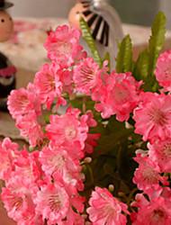 ensemble de 3 mini marguerites de couleur rose