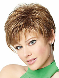 Europe And The United States Department of The New Light Brown Short Hair Wig