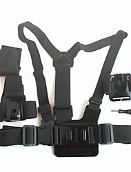 Gopro Accessories Chest Harness / Front Mounting / Wrist Strap / Mount/HolderFor-Action Camera,Gopro Hero1 / Gopro Hero 2 / Gopro Hero 3