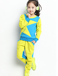 Girl's Long Sleeve Sports Clothing Sets(More Color)
