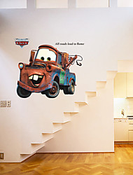 Wall Stickers Wall Decals, Style Cartoon Car General Mobilization PVC Wall Stickers