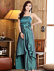 Women's Princess Sexy Sling Floor-length Bridesmaid/ Wedding Party Dress