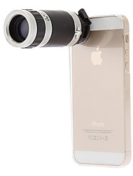 iphone5 Mobile Phone Telescope 8X for 5G/5S with Back Case