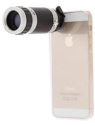 iphone5 Handy-Teleskop 8x für 5 g / 5s mit rückseitigem Fall