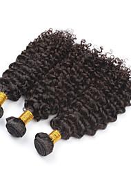 Kinky Curly Virgin Hair Brazillian Hair Bundles Weaves 3Pc/Lot 20inch Unprocessed Curly Hair