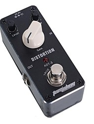 MINI Distortion Effect Pedal Aroma ADT-3 Distortion AC/DC Adapter Jack True Bypass
