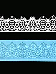dentelle outils moule fondantes Moule à sucre gâteau en silicone décoration